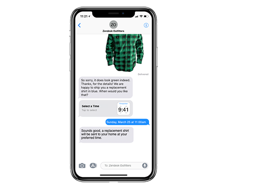 Apple Business Chat Beta