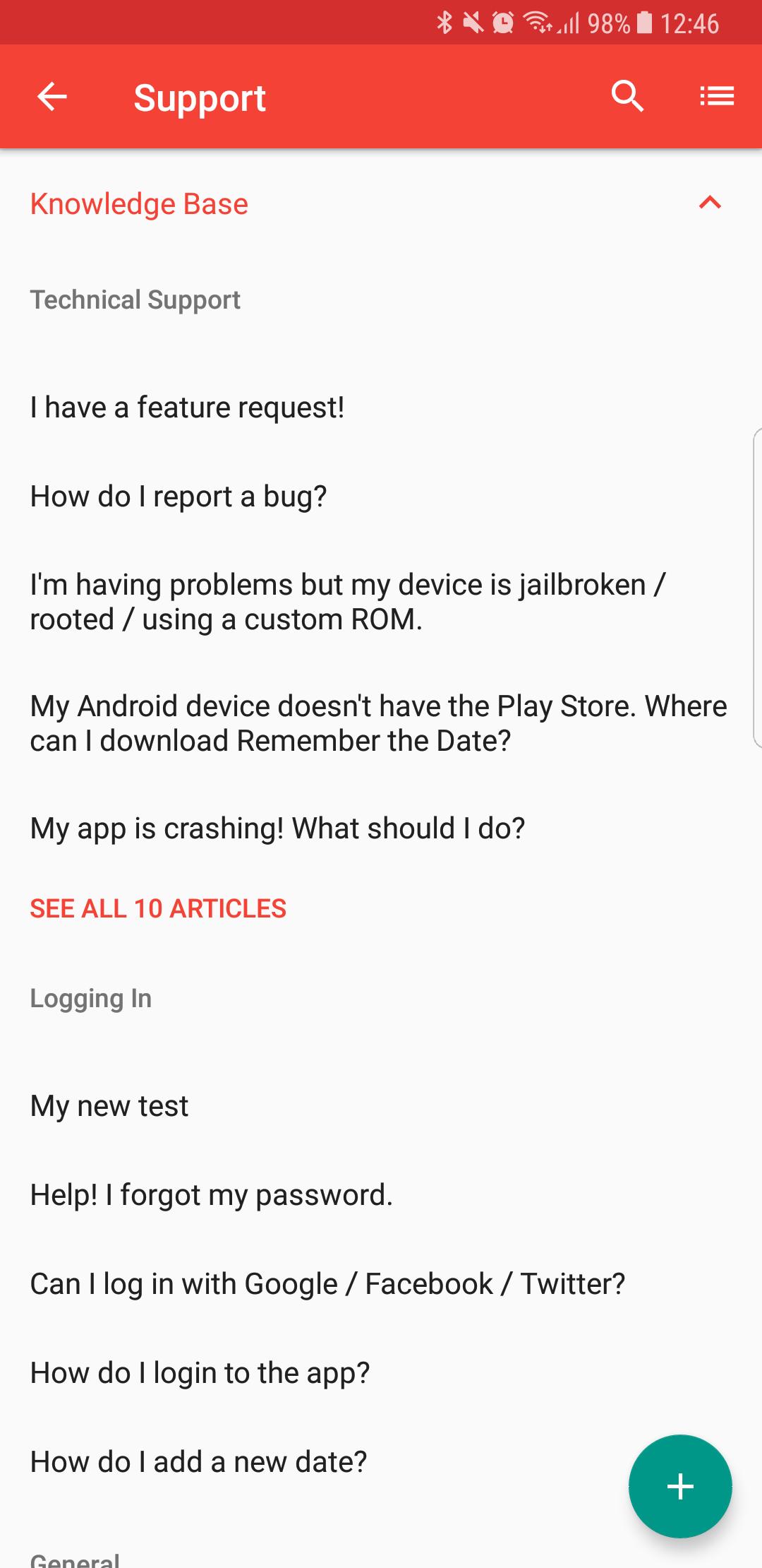 Adding Help Center - Support SDK for Android - Zendesk